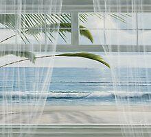 VIEW OF THE TROPICS by Diane Romanello by Diane Romanello