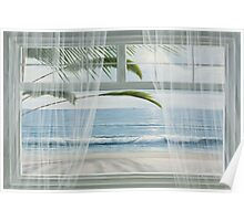 VIEW OF THE TROPICS by Diane Romanello Poster