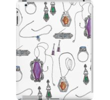 Vintage Jewelry Collection iPad Case/Skin