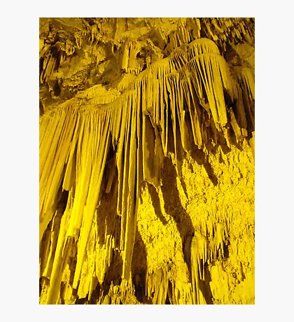 Greek cave Photographic Print