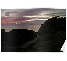 Lulworth by night Poster