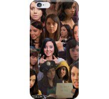 April Ludgate Tile iPhone Case/Skin