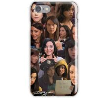 April Ludgate Tile iPhone Case/Skin