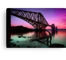 The Rail bridge Canvas Print