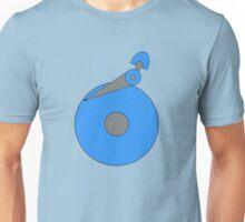 Minimalistic HDD - No case Unisex T-Shirt
