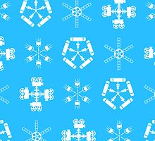 Filmmakers' Snowflakes by Rechenmacher
