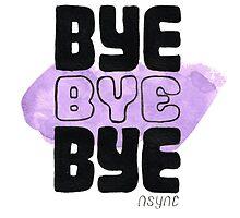 Bye Bye Bye by Monique Cutajar