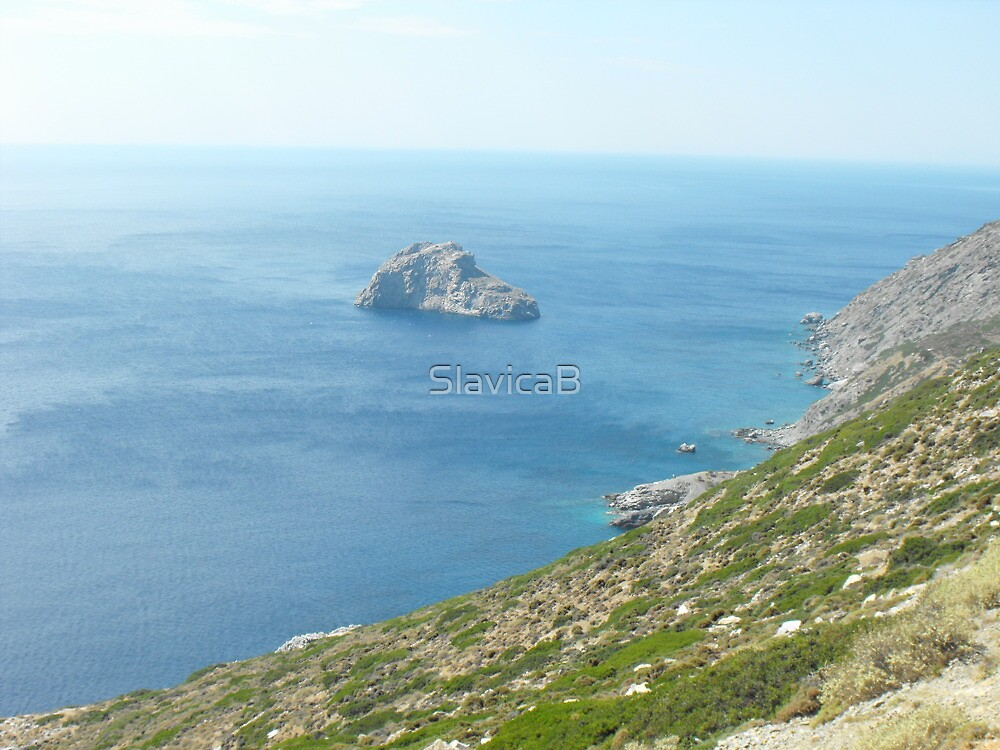 Greece: Amorgos Island  by SlavicaB