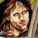 Viggo Mortensen, King Aragorn by jos2507