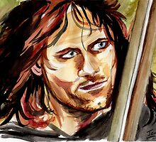 Viggo Mortensen, King Aragorn by jos2507