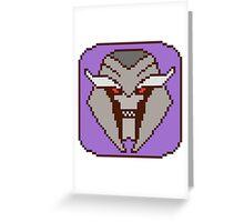 Pixel Megatron [Prime] Greeting Card