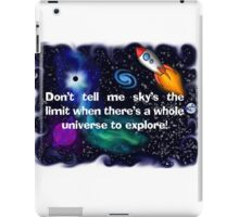 Universe to Explore iPad Case/Skin