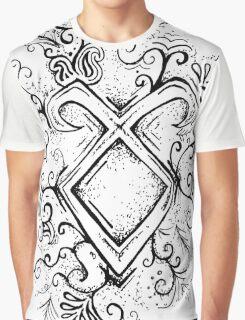 Angelic Rune Mandala Graphic T-Shirt