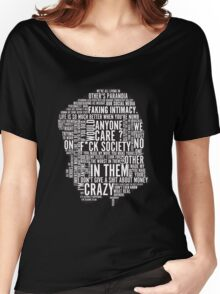Mr Robot Quotes Women's Relaxed Fit T-Shirt