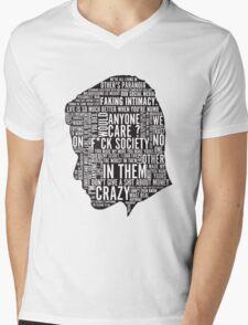 Mr Robot Quotes Mens V-Neck T-Shirt