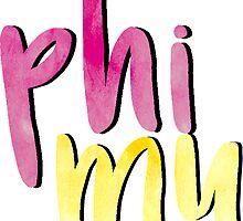 Phi Mu by sophhsophh