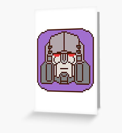 Pixel Megatron [IDW] Greeting Card