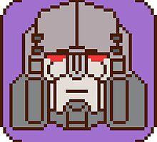 Pixel Megatron [IDW] by tralma