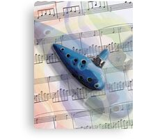 Ocarina Music 2 Metal Print