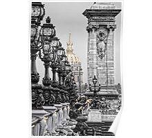 Paris pompous Poster