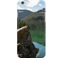 Crystal Lake, Montana iPhone Case/Skin