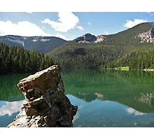 Crystal Lake, Montana Photographic Print