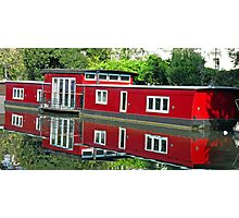 Reflection in Regent Canal Photographic Print