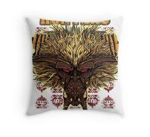 Hunters Guild - Rajang Throw Pillow