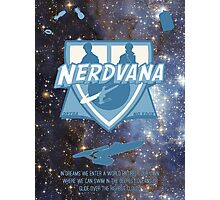 Nerdvana Photographic Print