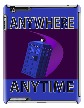 The TARDIS, Anywhere, Anytime by Rechenmacher