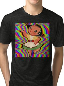 Dancing In Colours Tri-blend T-Shirt