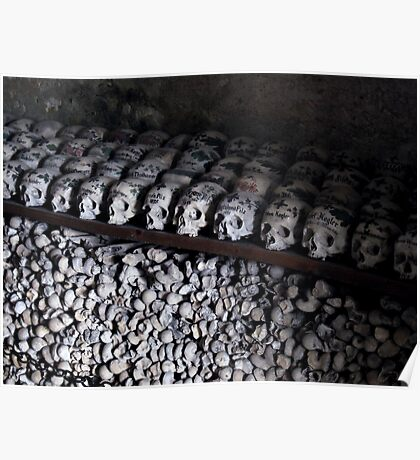 Hallstatt Ossuary Poster