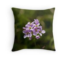 Lady's Smock Throw Pillow