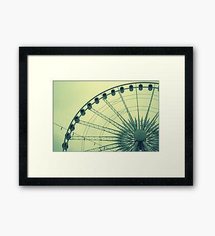 Ferris Framed Print