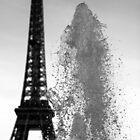 Eiffel fountain by SergiWave