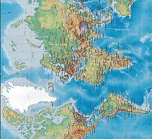 World Map IPad Case by Jnhamilt