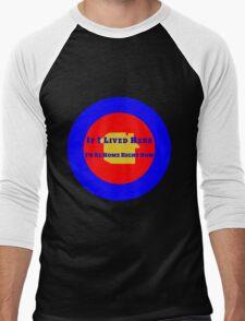 Location Location Location Men's Baseball ¾ T-Shirt