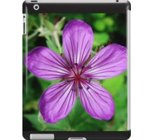 Purple Flower in Montana iPad Case/Skin