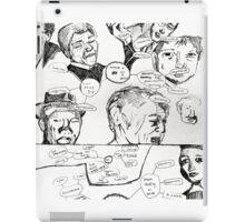 notes iPad Case/Skin