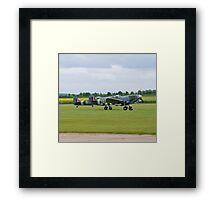 Spitfire Takeoff Framed Print