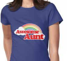 Awesome Aunt Womens Fitted T-Shirt
