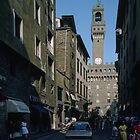 Palazzo Vecchio Florence Italy 198407080046 by Fred Mitchell