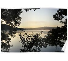 Sunrise At Willow State Park 2 Poster