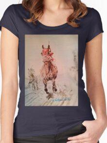 Winna! Women's Fitted Scoop T-Shirt