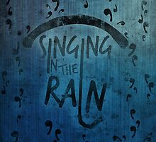 Singing in the Rain Poster by SonOfPoseidon