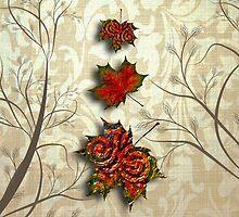 Fall Series #1 IPad Case by Elizabeth Burton