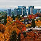 Portland in the Fall by Bryan D. Spellman