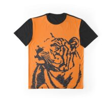 Tiger Sketch Graphic T-Shirt