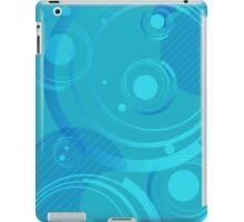 Dignified Swirls - Blue iPad Case/Skin