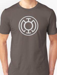 Blue Lantern Insignia (White) T-Shirt